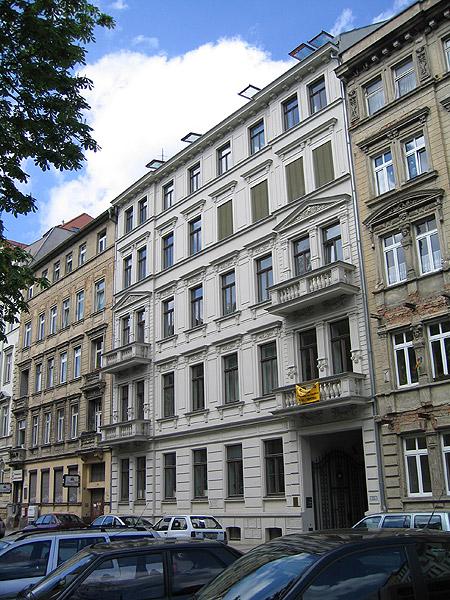 Objekt: Arndtstraße 5, Leipzig – Baujahr Gebäude: 1900 – Saniert: 1990 – Verwaltung seit: 2003 – Wohneinheiten: 12 – Mietshaus
