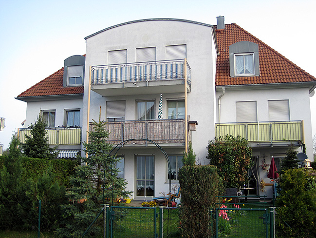 Objekt: Martinshöhe 12-16a, Leipzig – Baujahr Gebäude: 1995 – WEG – Verwaltung seit: 2003 – Wohneinheiten: 38 – Sondereigentumsverwaltung: 19